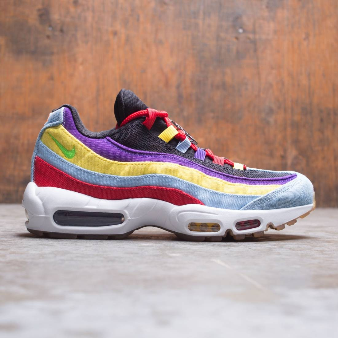 Nike Men Air Max 95 Sp Psychic Blue Chrome Yellow White