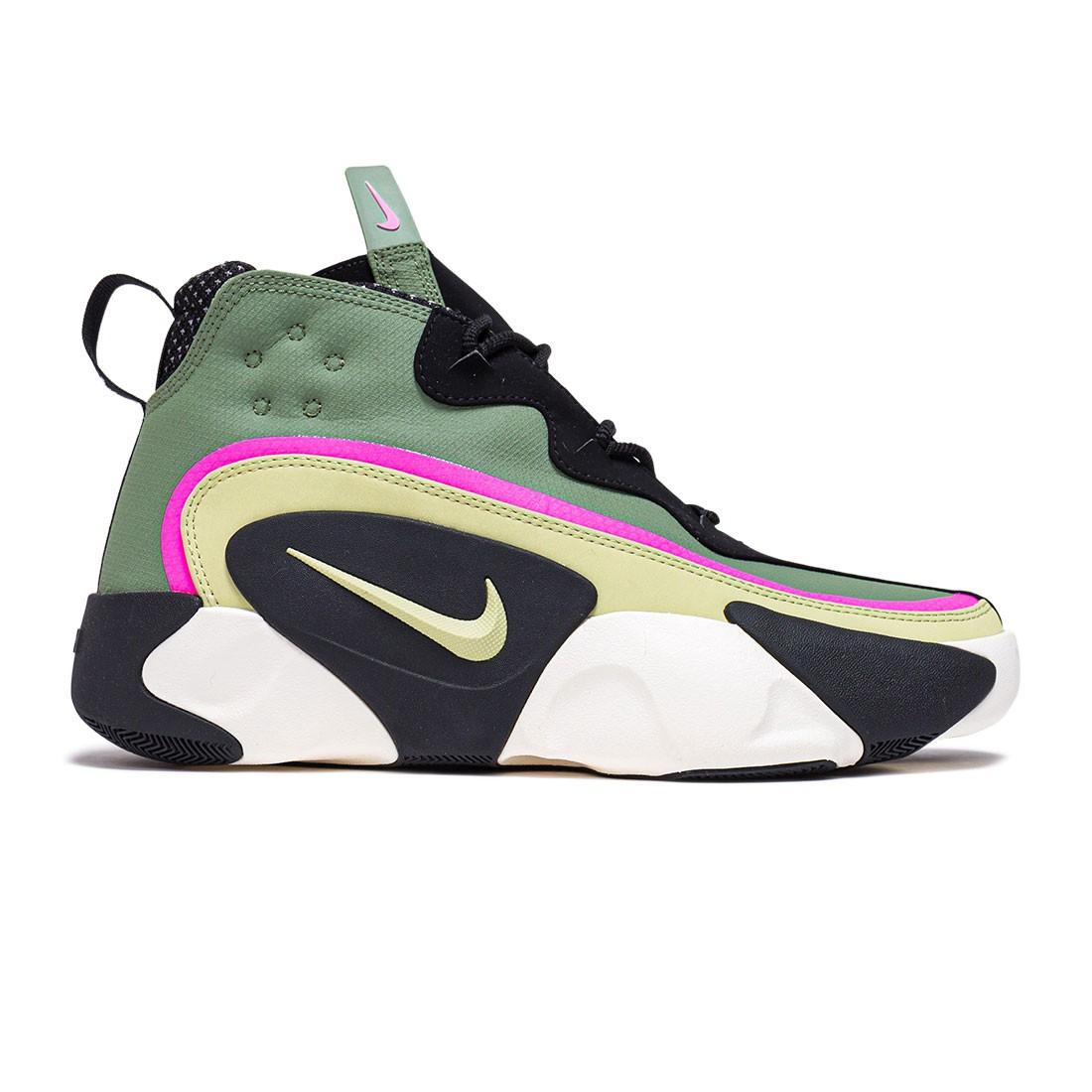 Nike Men React Frenzy (spiral sage / olive aura-black-sail)