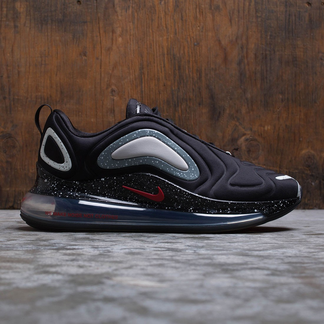 Nike Men X Undercover Air Max 720 Black University Red