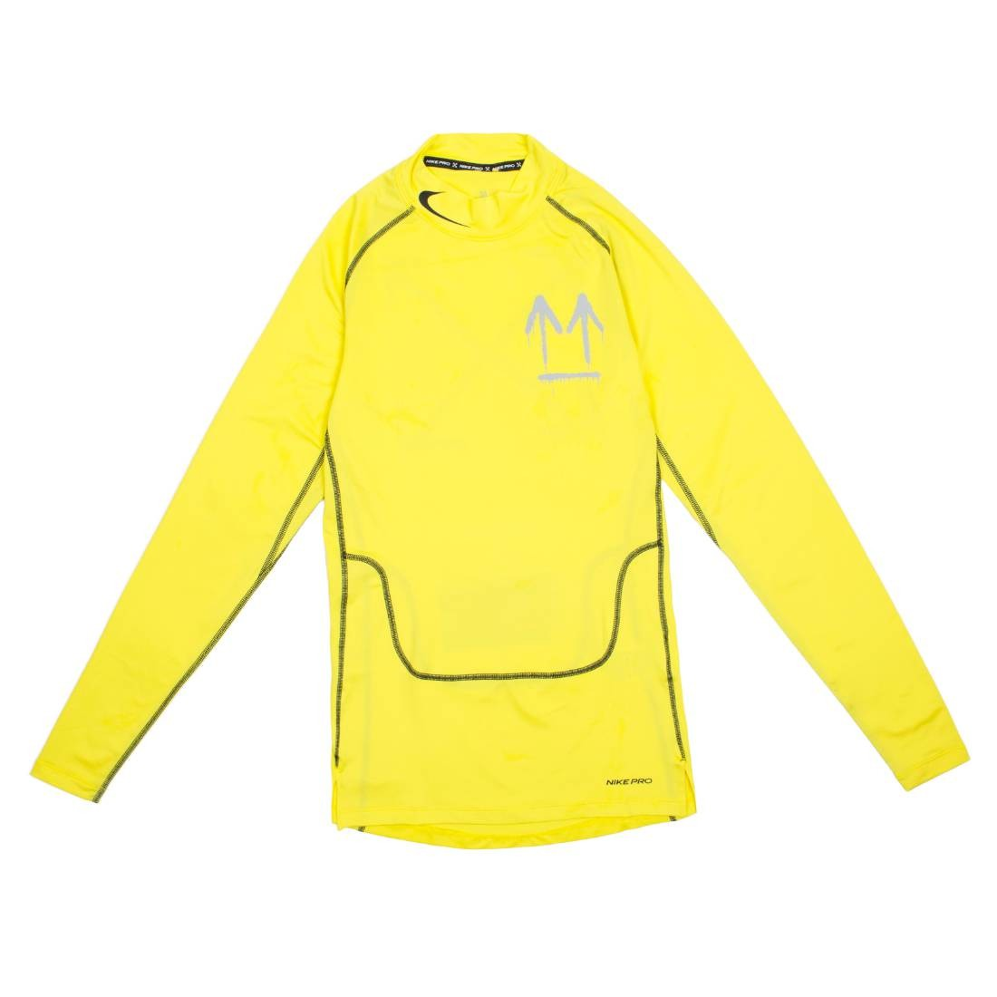 Nike X Off-White Men Pro Long Sleeves Tee (opti yellow)