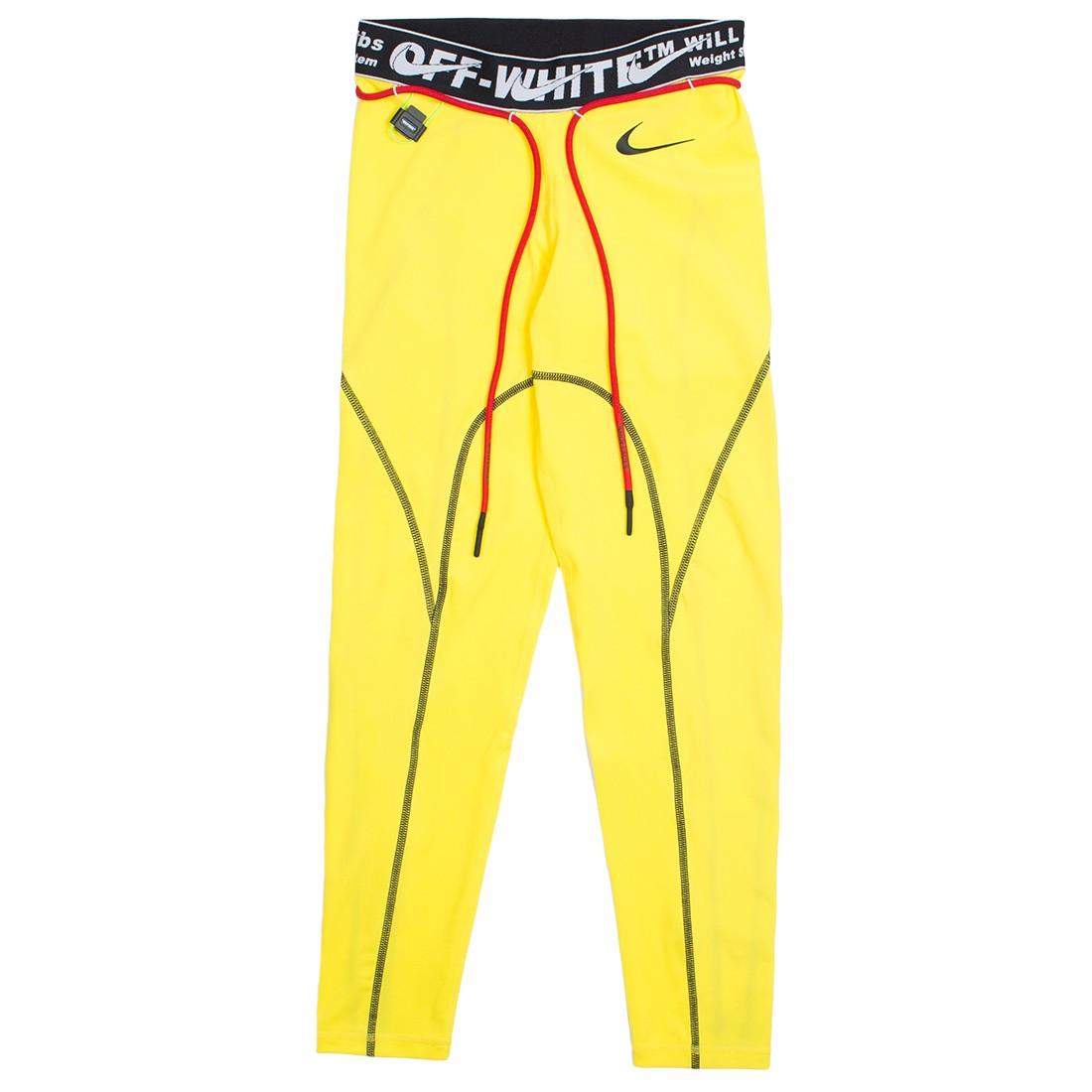 Nike X Off-White Women Pro Tights (opti yellow)
