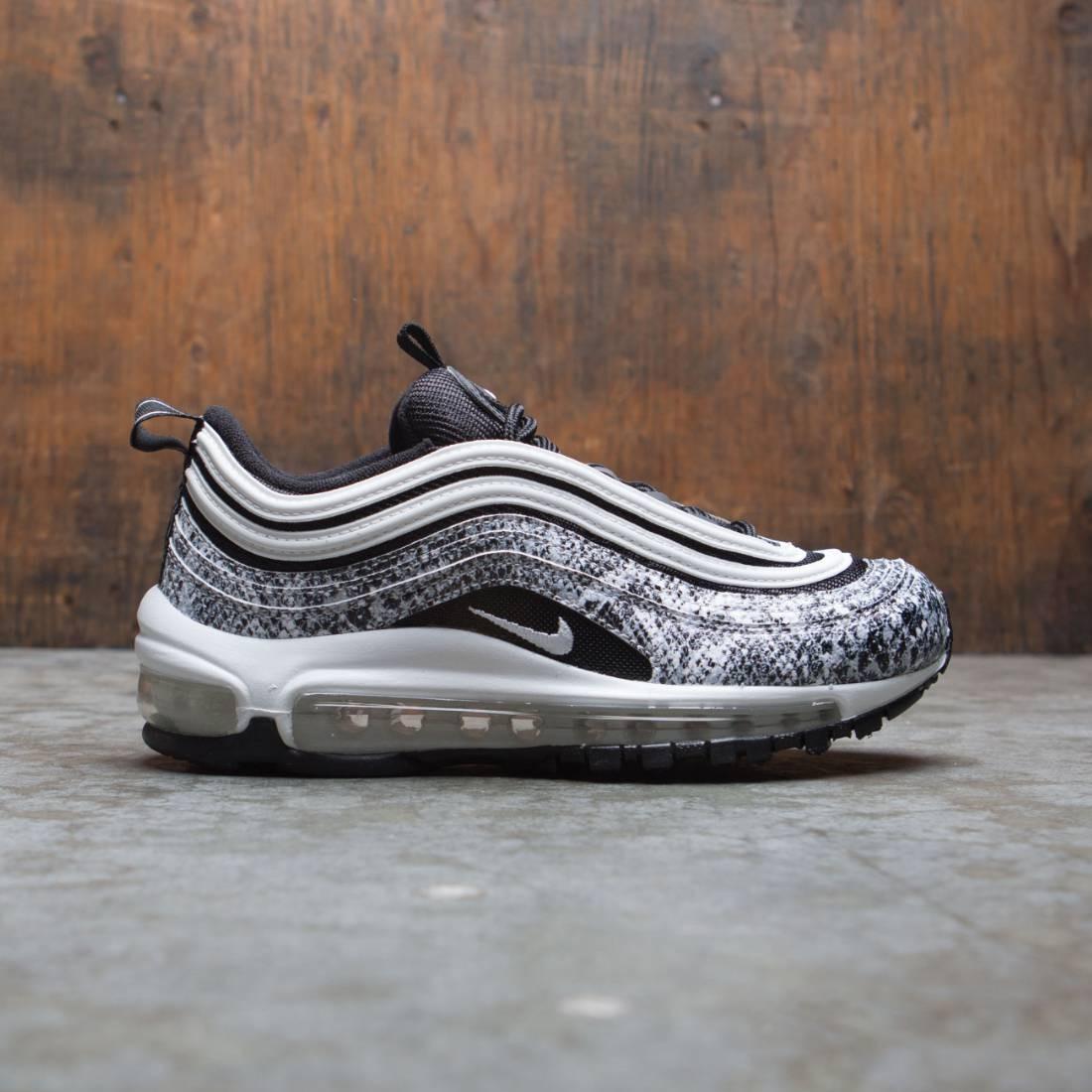 Nike Women W Air Max 97 Black White