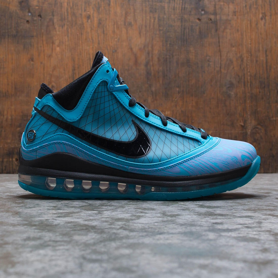 Nike Men Lebron 7 Qs (chlorine blue / black)