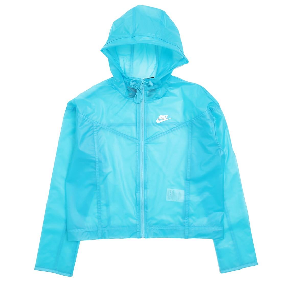 Nike Women Sportswear Windrunner (baltic blue / white)