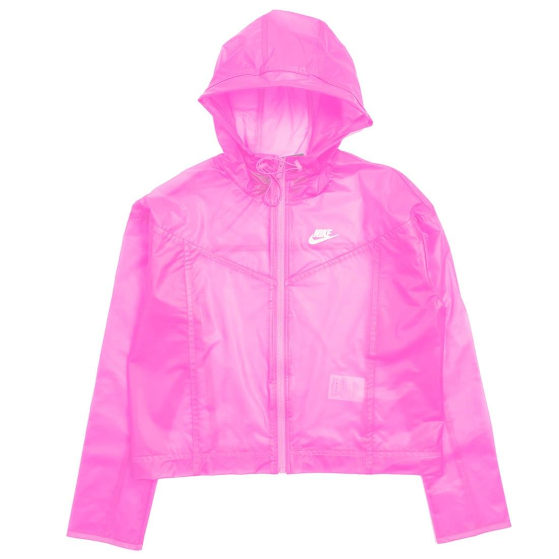 Nike Women Sportswear Windrunner (pink glow / white)