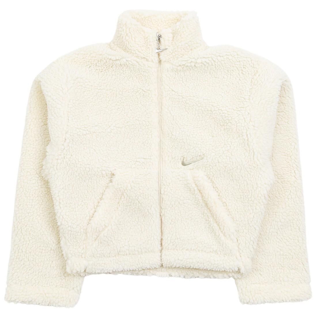 Nike Women Sportswear Swoosh Jacket (fossil / stone)