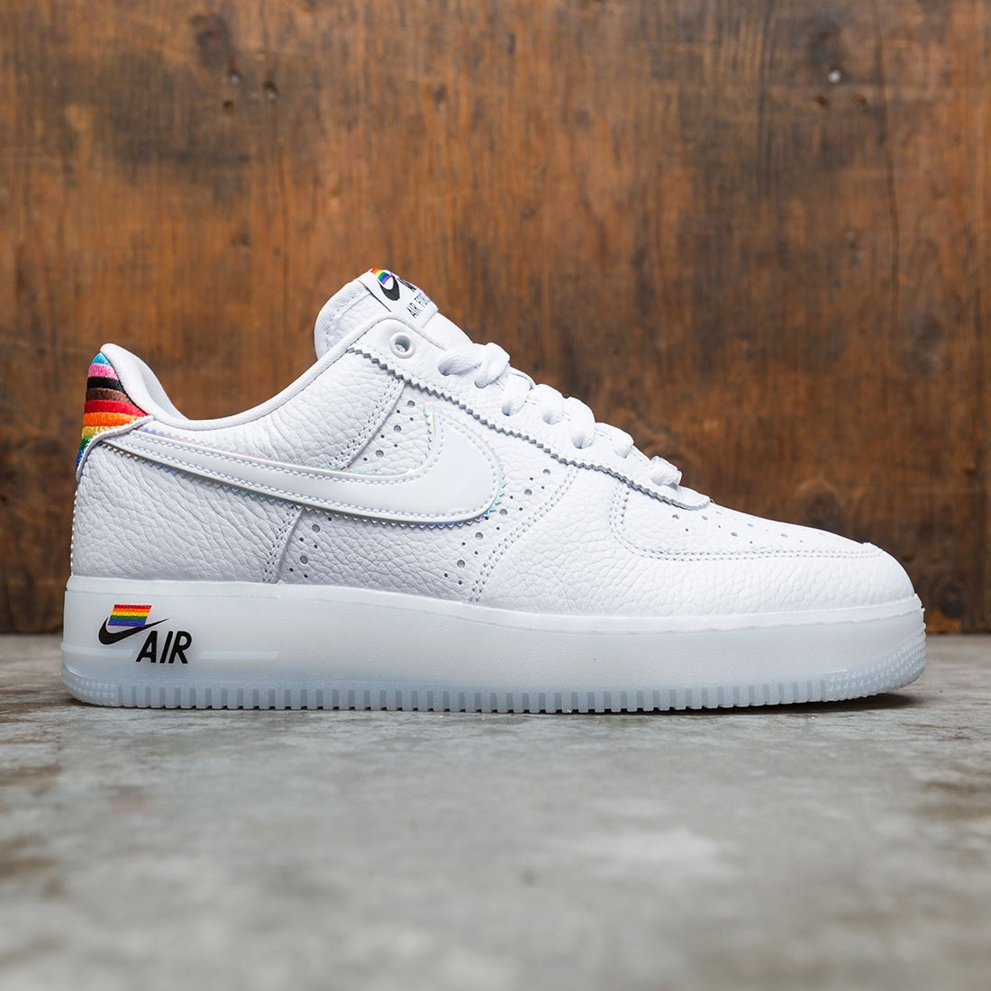Nike Men Air Force 1 Betrue (white / white-multi-color)