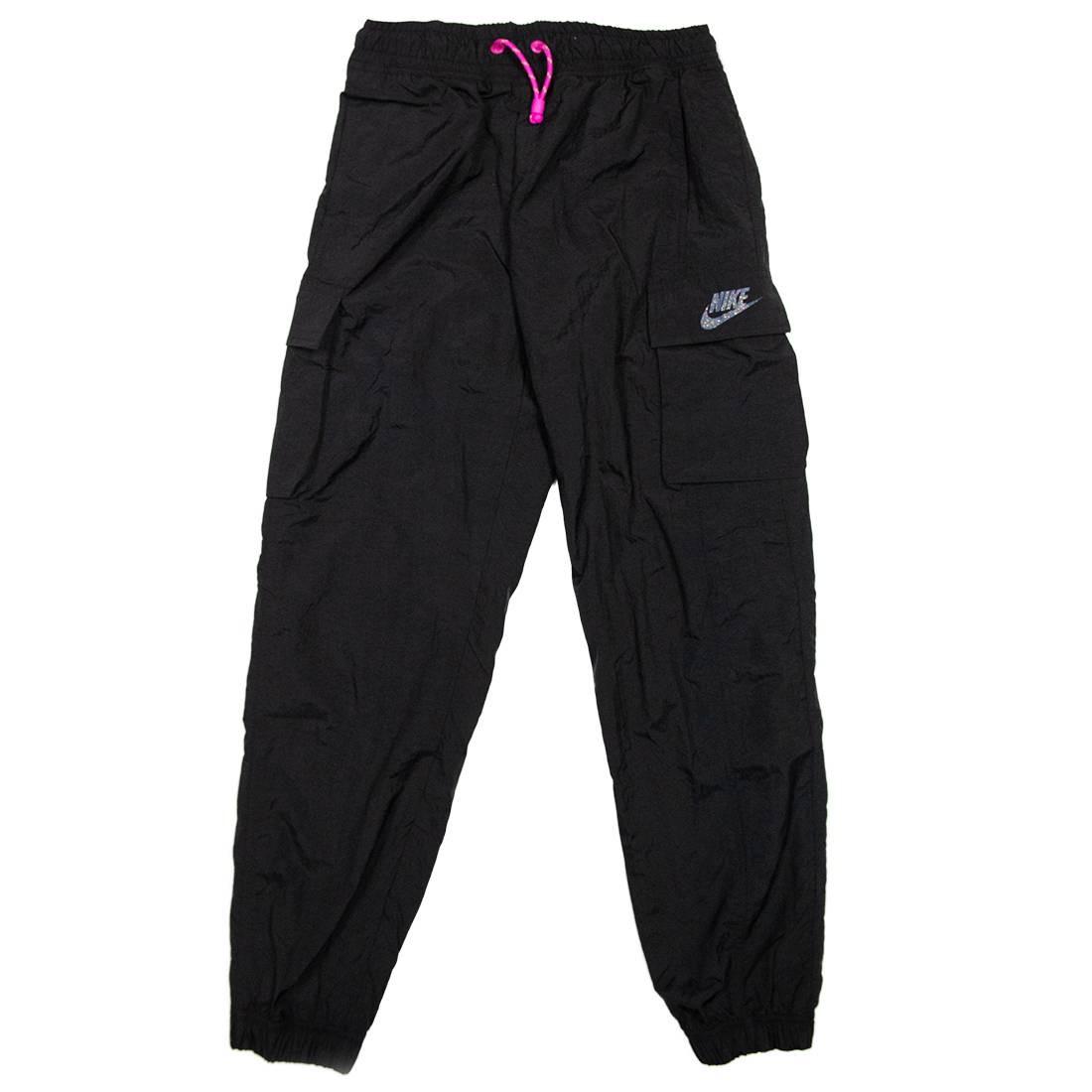 Nike Women Sportswear Icon Clash Pants (black / fire pink)