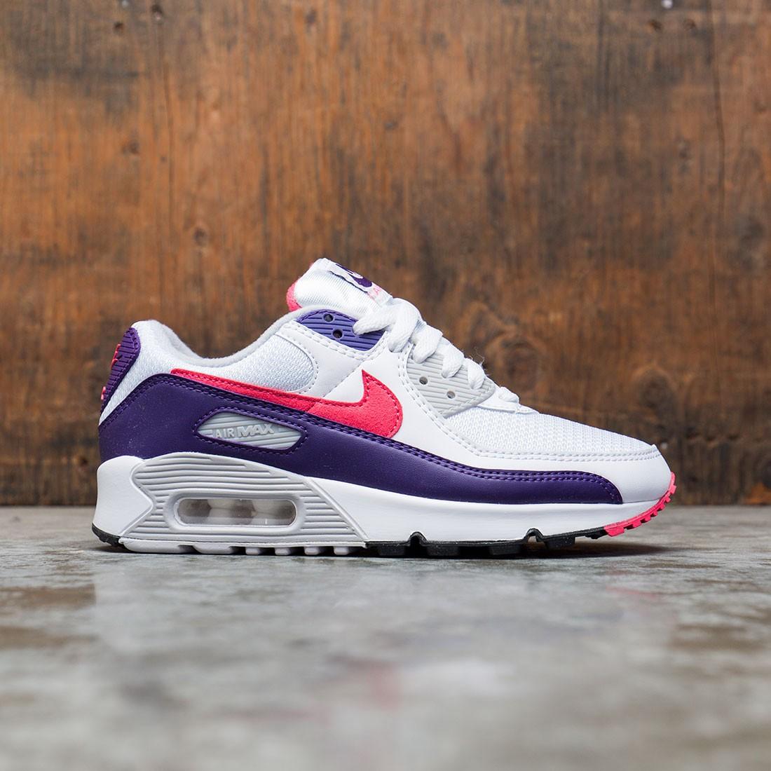 Nike Women Air Max Iii (white / eggplant-flare-zen grey)