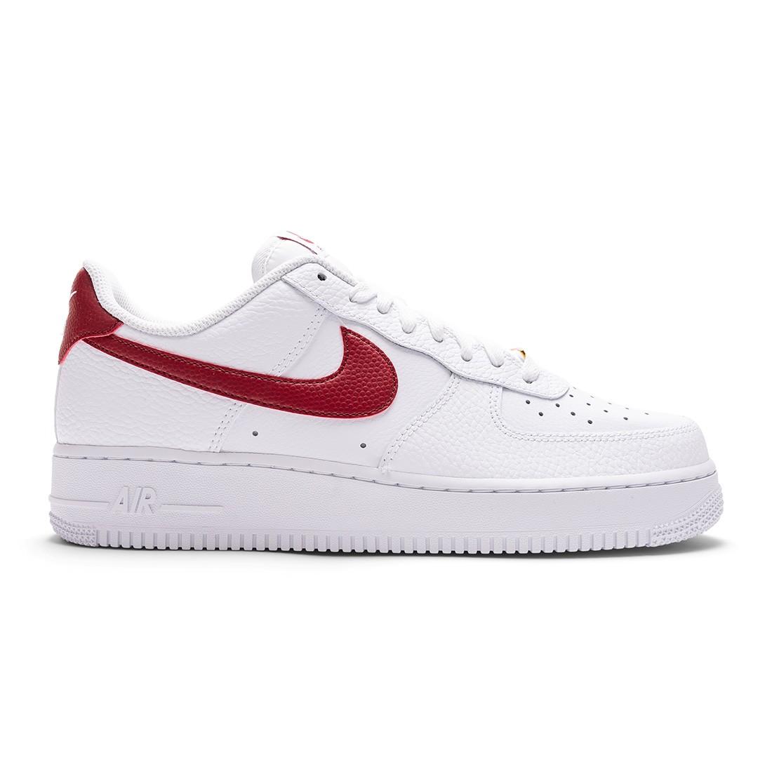 Nike Men Air Force 1 '07 (white / team red-white)