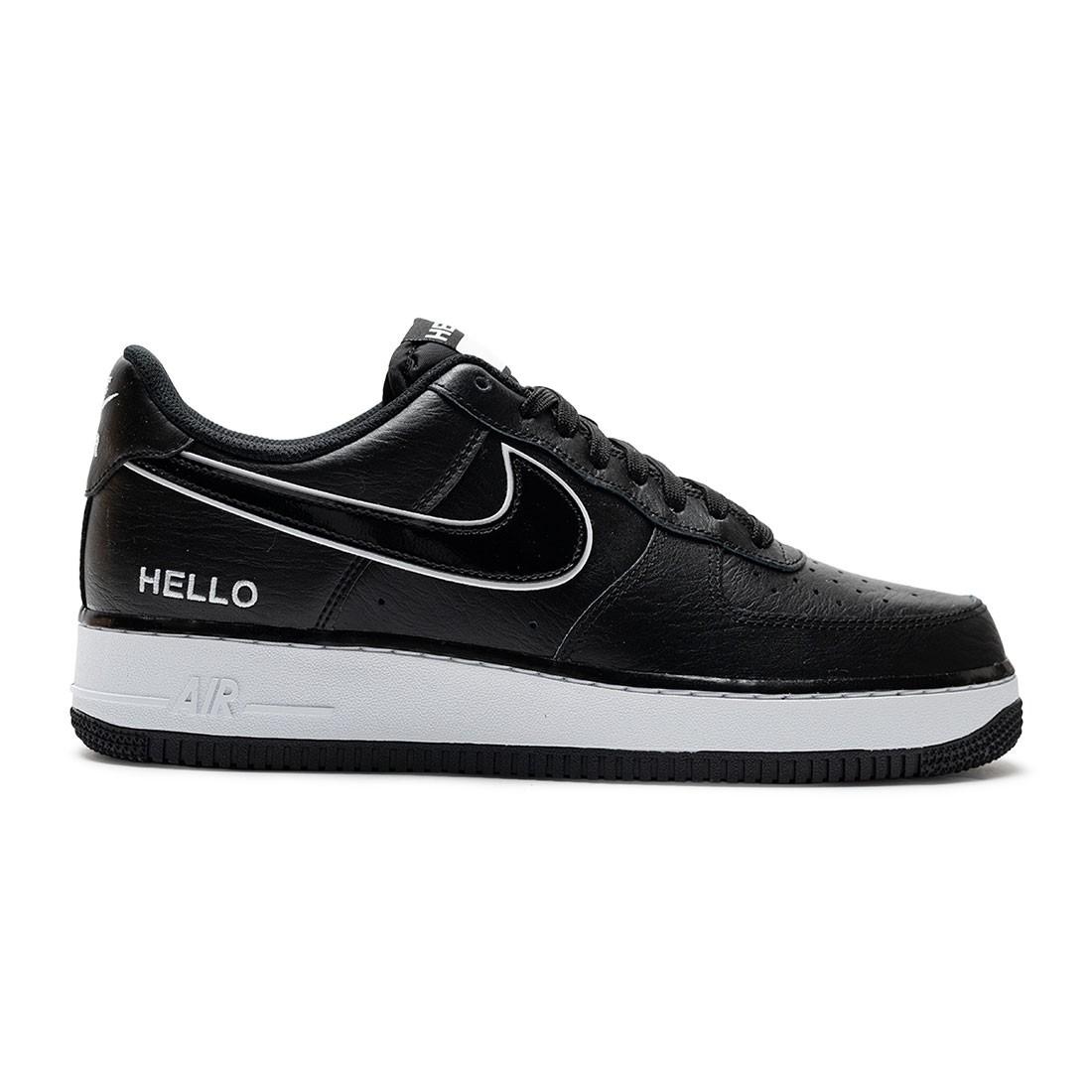 Nike Men Air Force 1 '07 Lx (black / black-white)