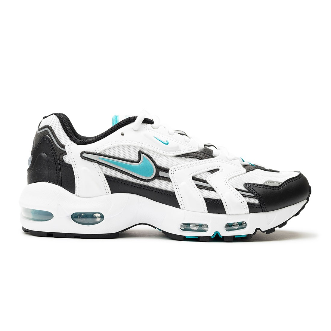 Nike Men Air Max 96 Ii (white / mystic teal-black-reflect silver)