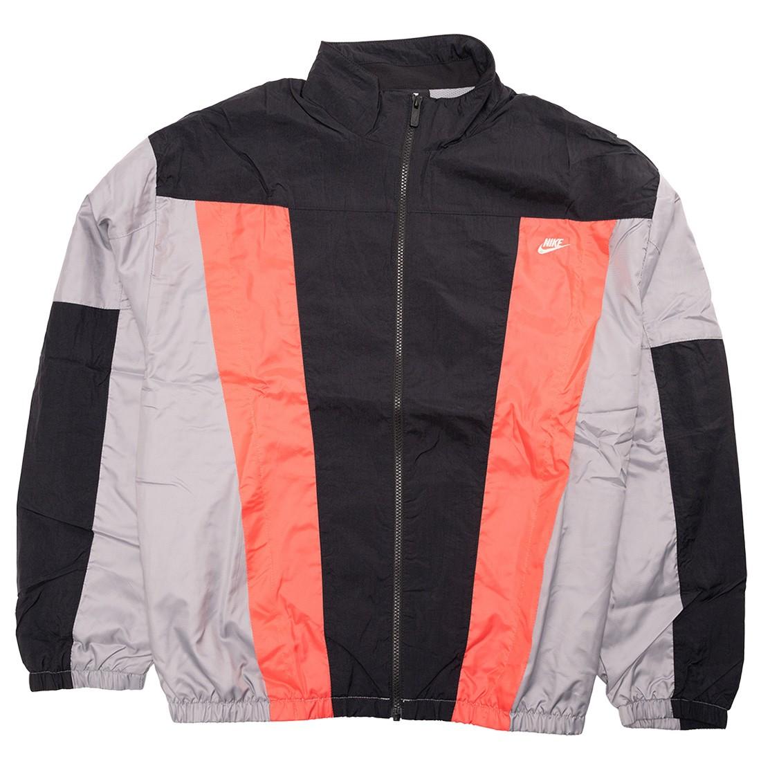 Nike Men Sportswear International Jacket (black / particle grey / ember glow)