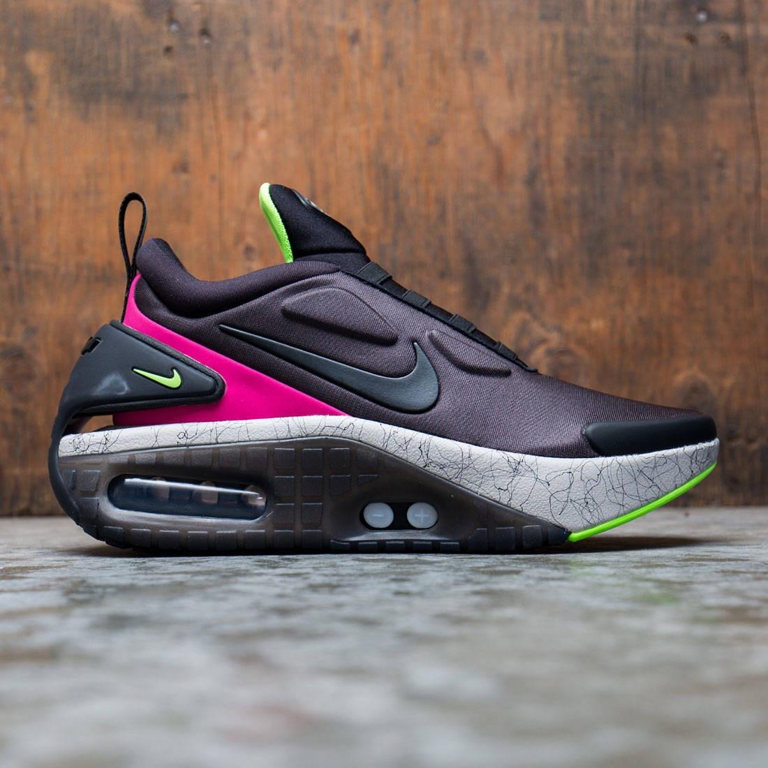 Nike Men Adapt Auto Max (black / black-fireberry-electric green)