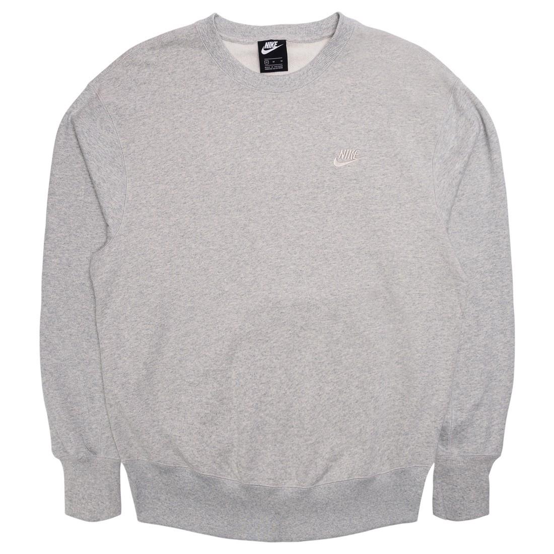 Nike Men Sportswear Crewneck (grey heather / light bone)