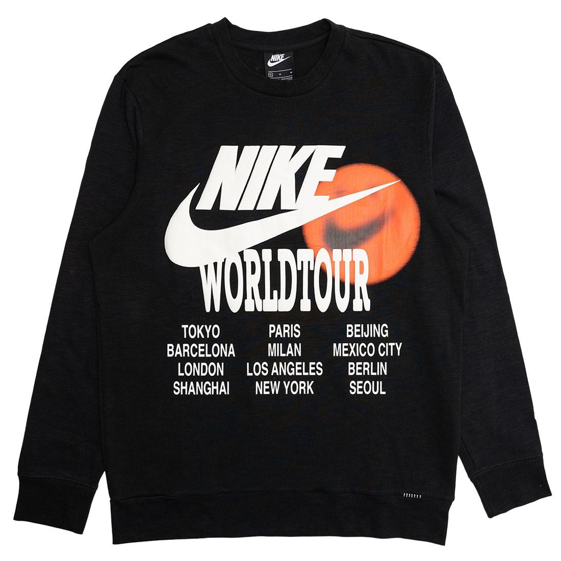 Nike Men Sportswear Long Sleeves Tees (black)