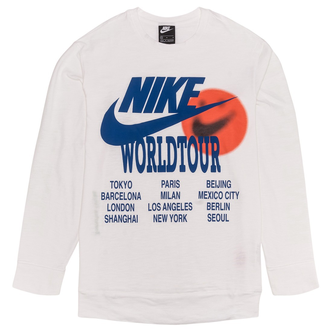 Nike Men Sportswear Long Sleeves Tees (white)
