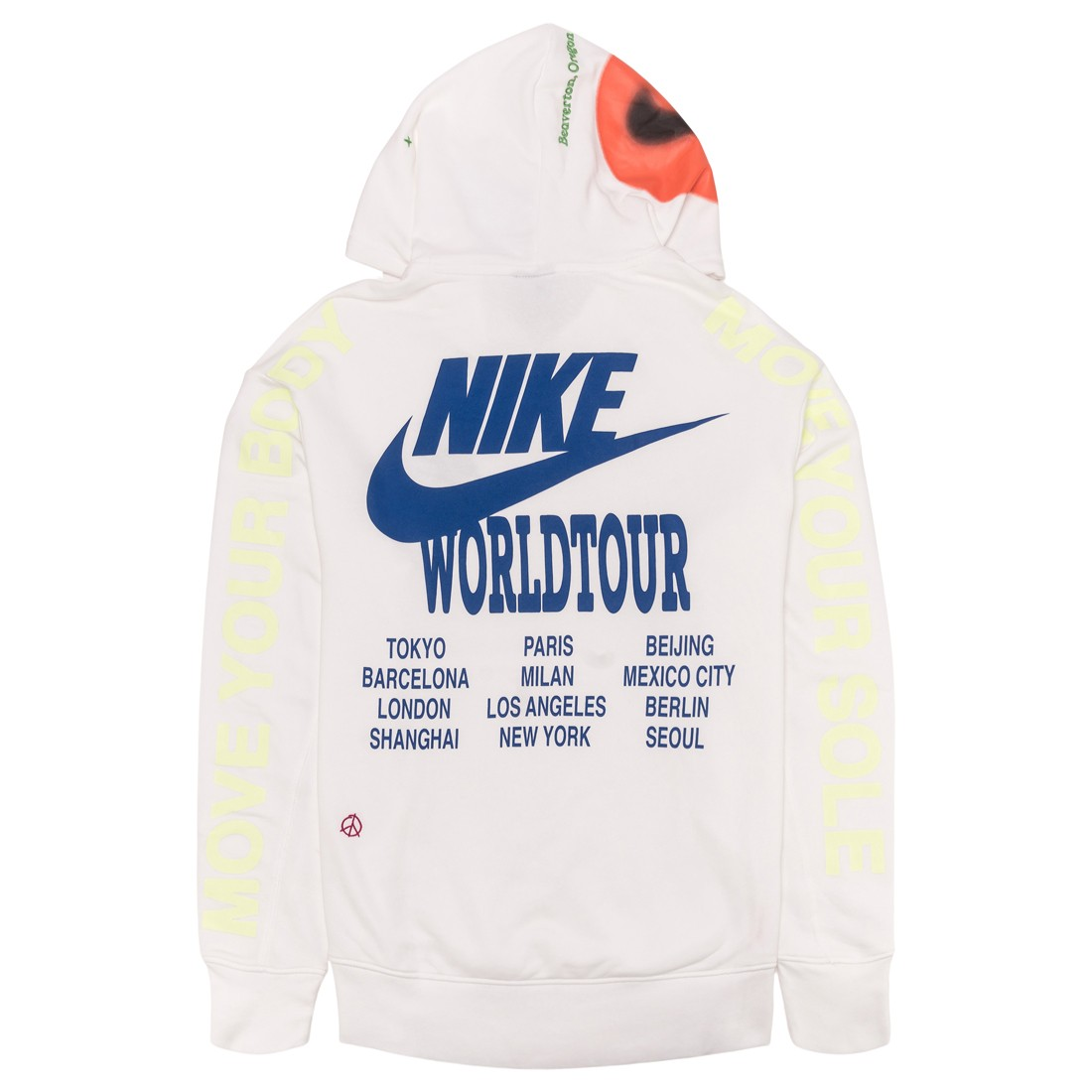 Nike Men Sportswear Pullover French Terry Hoody (white)