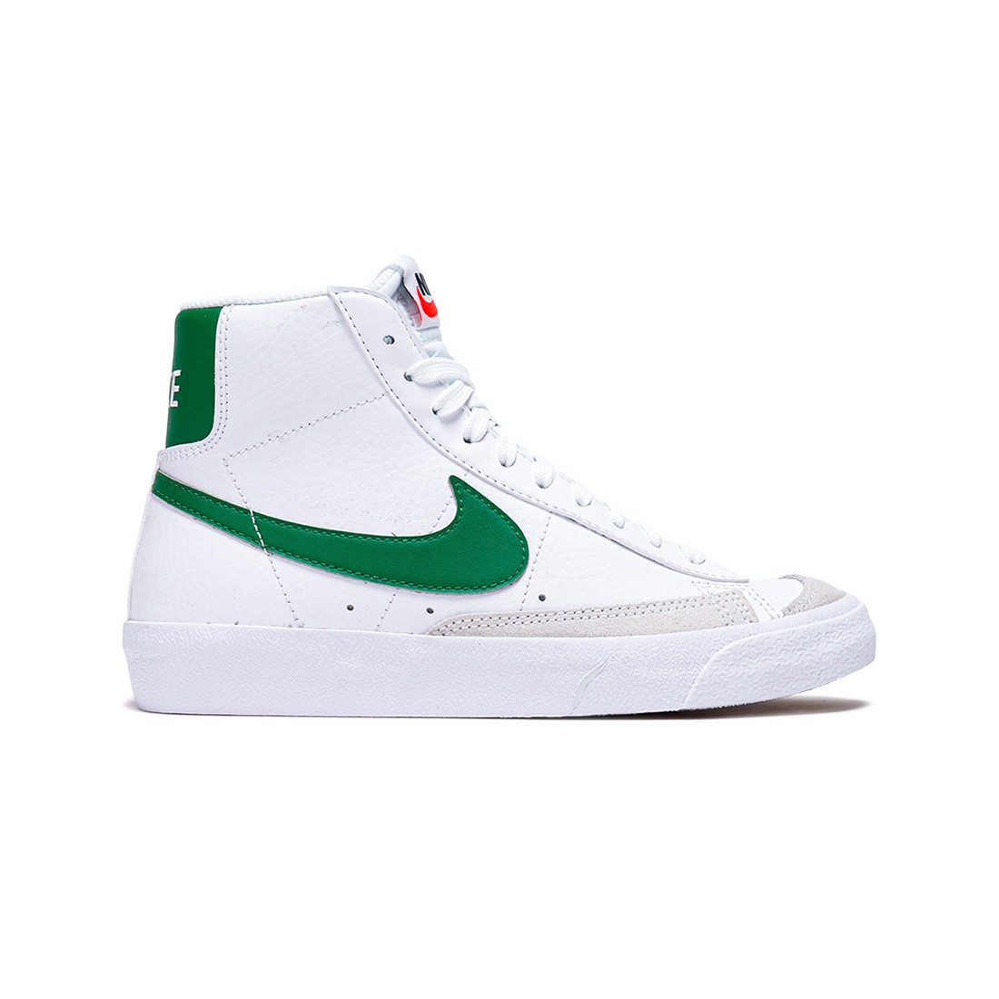 Nike Big Kids Blazer Mid '77 (white / pine green-pine green-black)