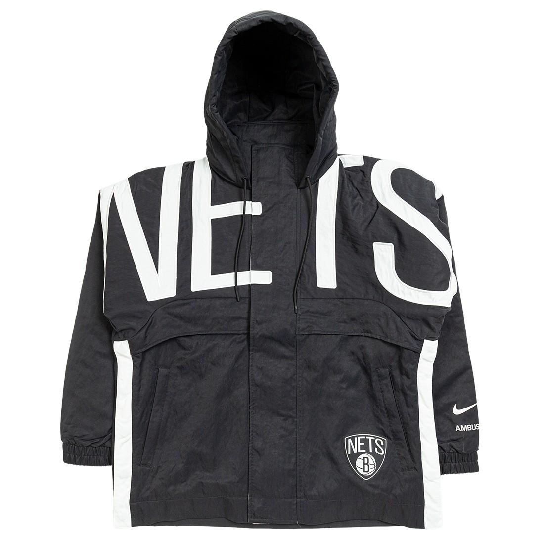 Nike Women W Nrg Ir Jkt Brooklyn Nets Jackets (black)