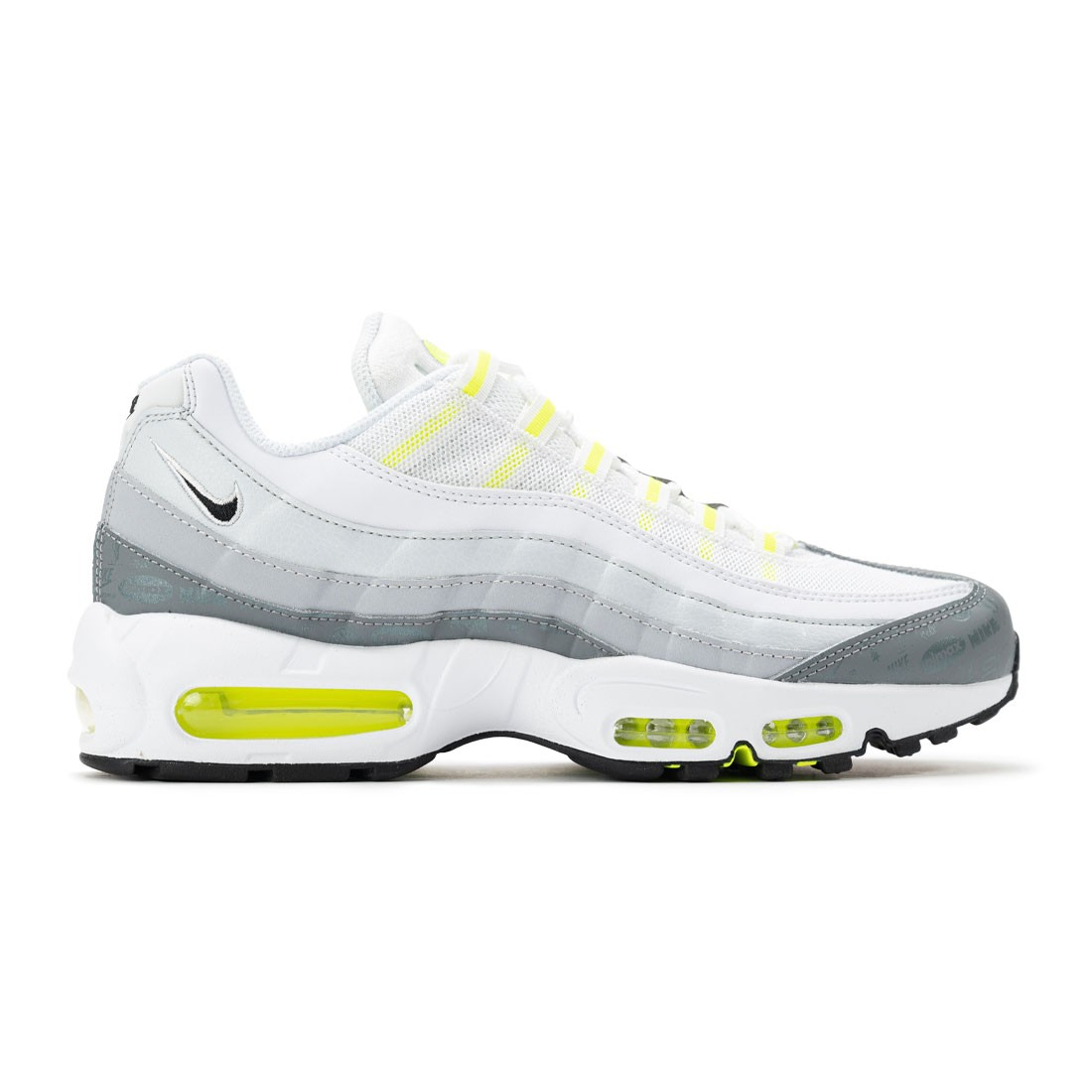 Nike Men Air Max 95 (white / black-cool grey-wolf grey)