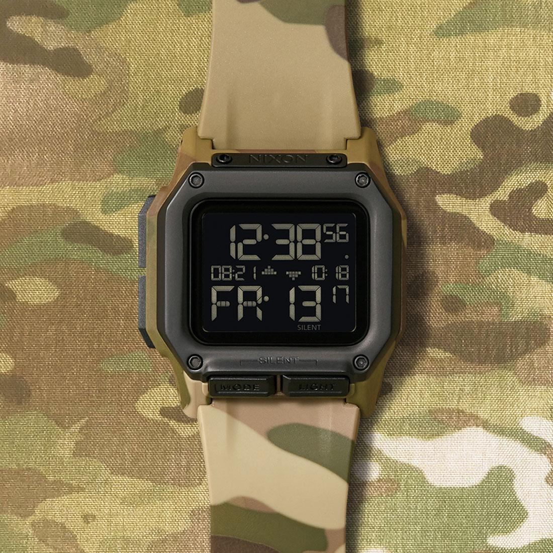 Nixon Regulus Watch (camo / multi cam)