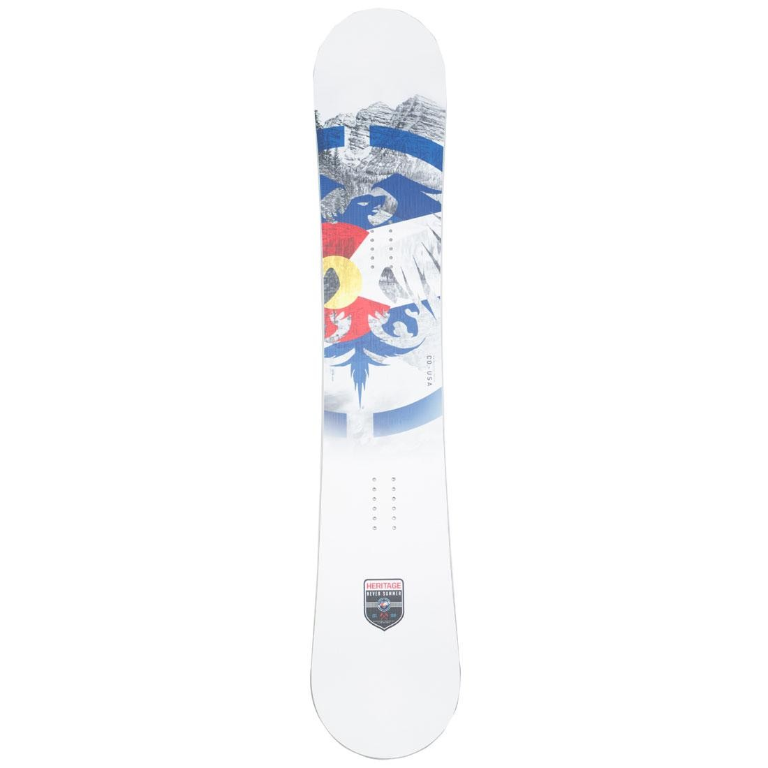 Never Summer 2019 Heritage Snowboard (multi)