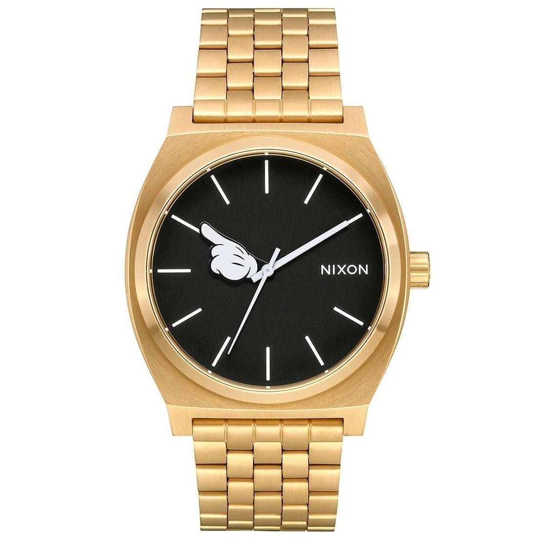 Nixon x Disney Time Teller Gold Watch - One Glove (gold / hand)