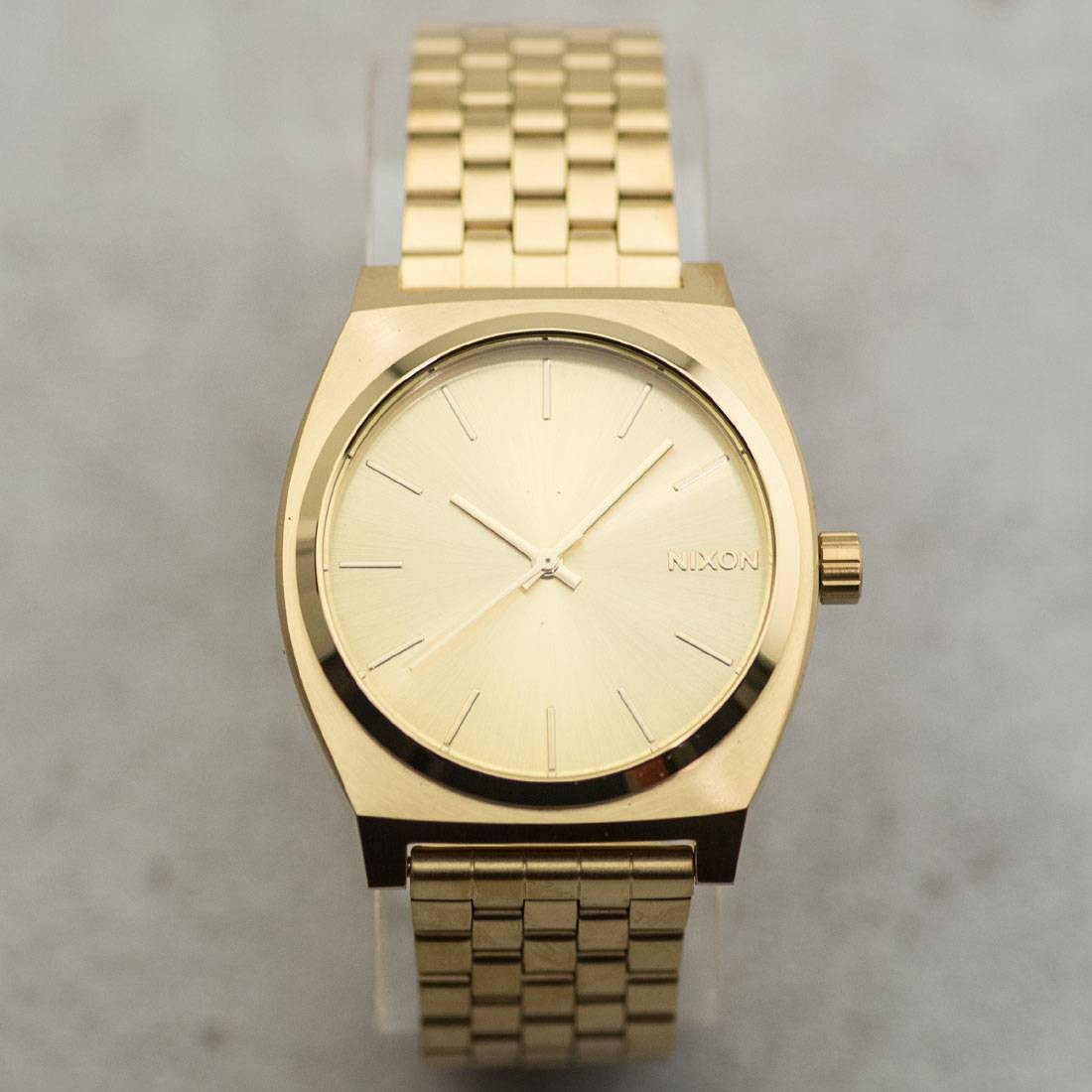 Nixon Time Teller Watch (gold / all gold)