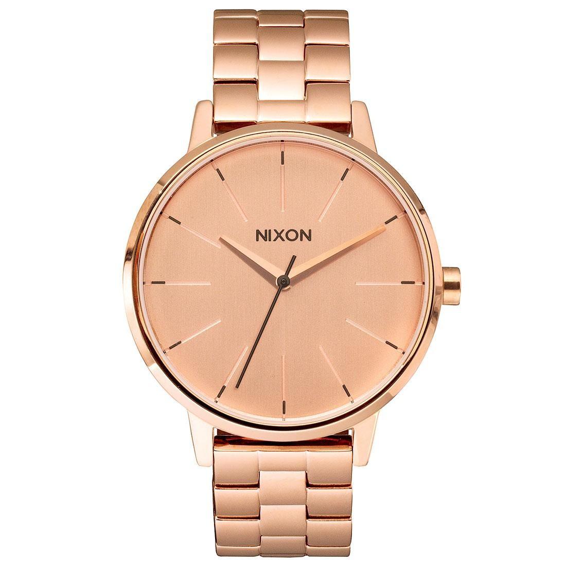 Nixon Kensington Watch (pink / all rose gold)