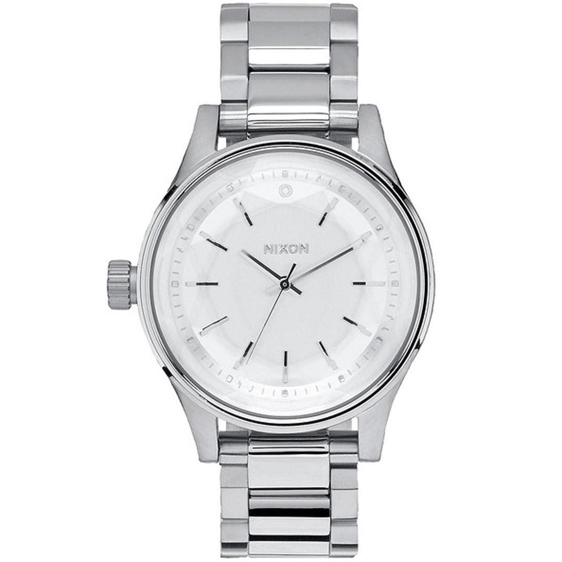 Nixon Facet 38 Watch (silver)