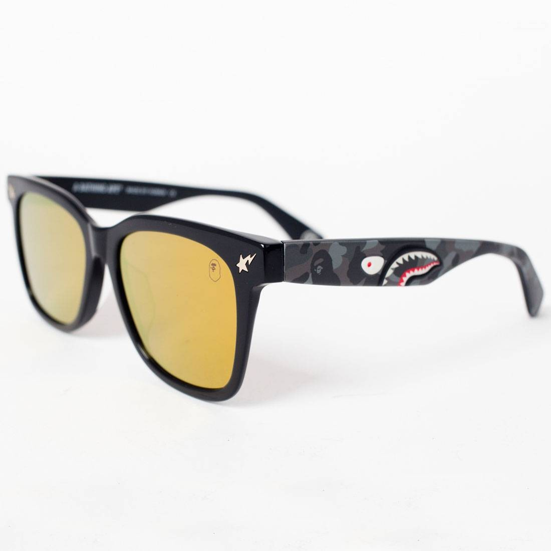 A Bathing Ape PARKAS04 BK Sunglasses (black)