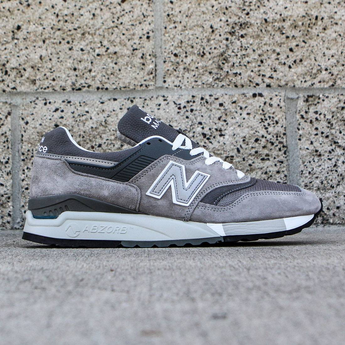 super popular 80a73 3535b New Balance Men M997.5 - Made In USA gray white