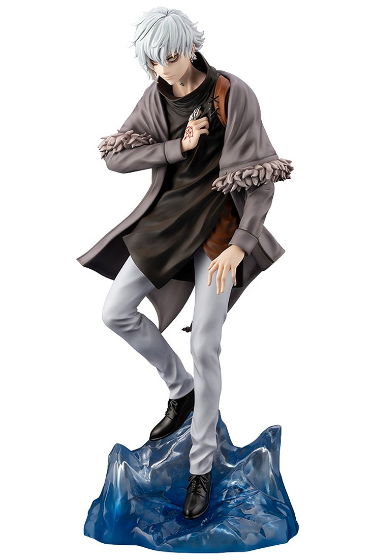 PREORDER - Kotobukiya Fate/Grand Order Crypter Kadoc Zemlupus Statue With Bonus Face Part (gray)