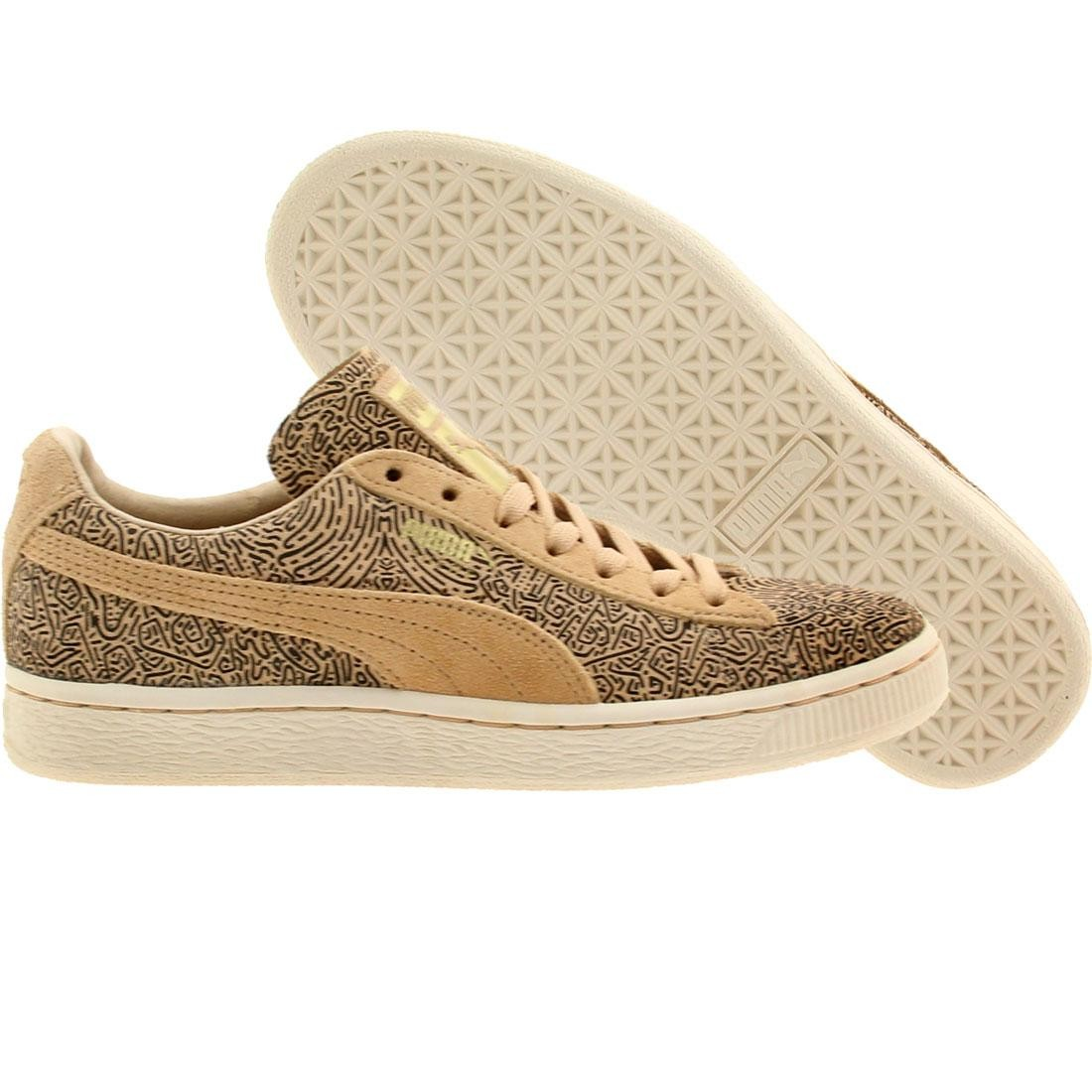new products b186f 42695 Puma x Solange Women Suede Classic Lines (brown / honey peach / black)