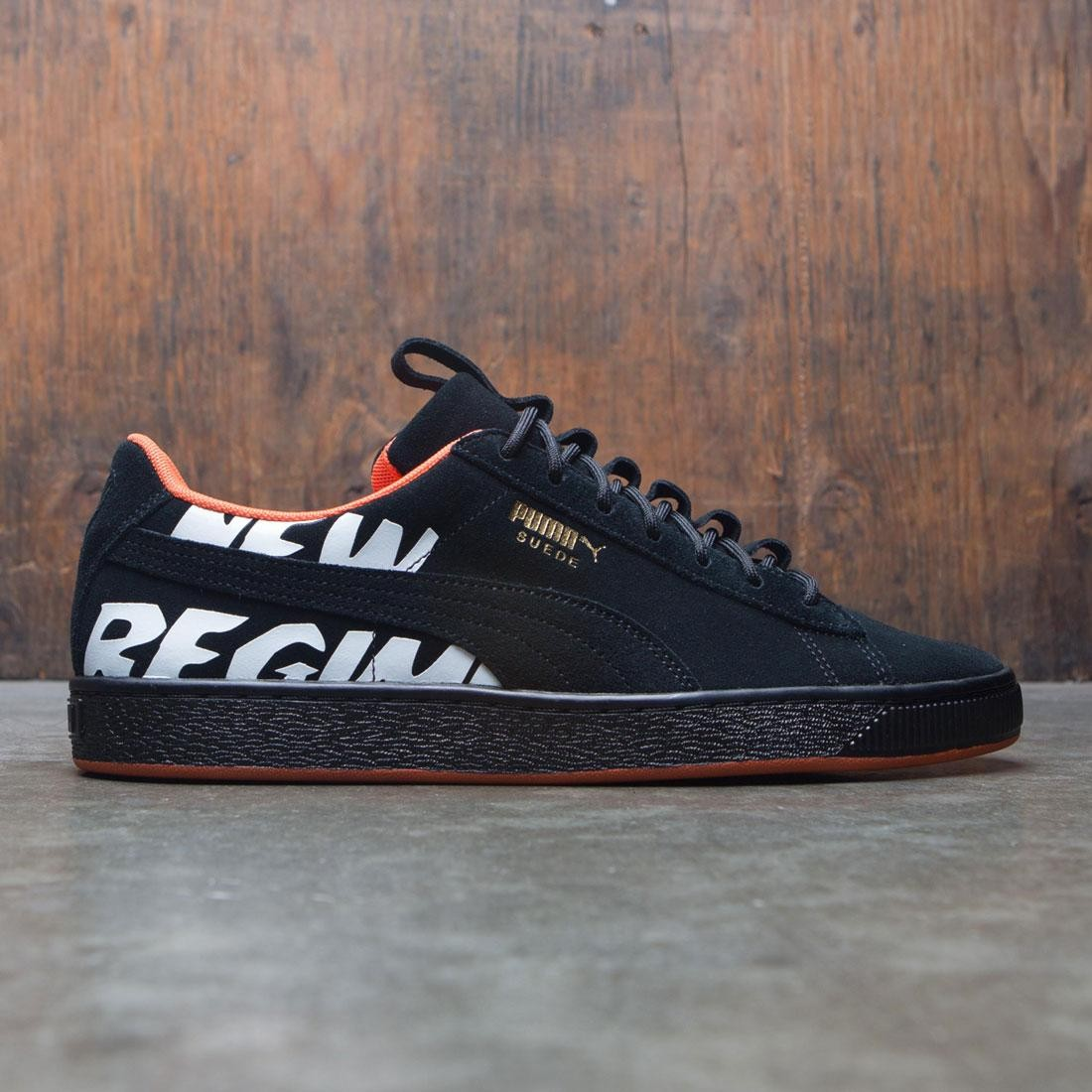 check out 6c983 0fdb3 Puma x Atelier New Regime Men Suede (black / black)