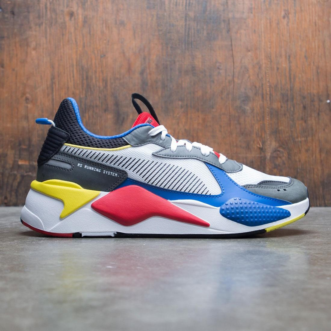 Puma Men RS-X - Toys (white / blue/  risk red)