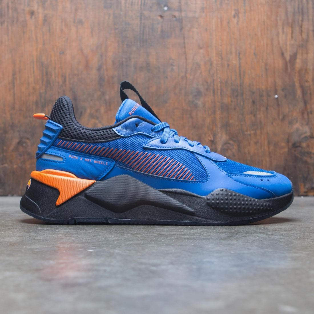 087b1d08484 Puma x Hot Wheels Men RS-X - 16 blue royal black