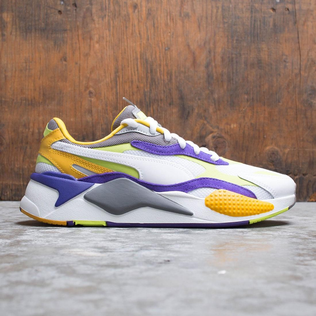 Puma Men RS-X3 - Level Up (white / limepunch)