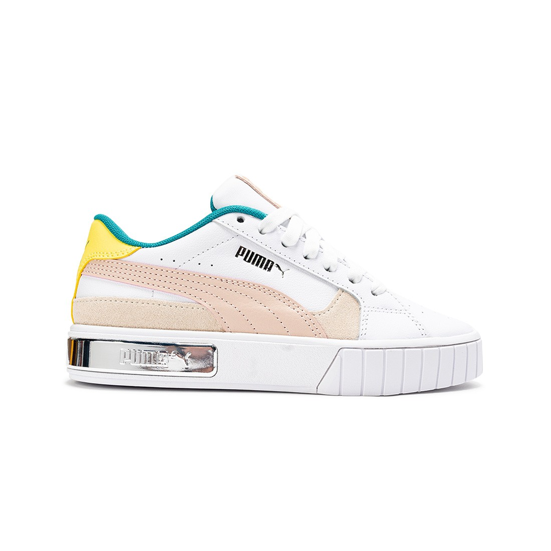 Puma Women Cali Star OQ (white / cloud pink / celandine)