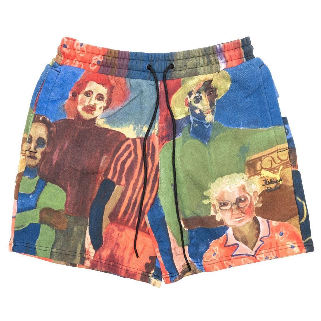Puma x KidSuper Studios Men AOP Shorts (white)