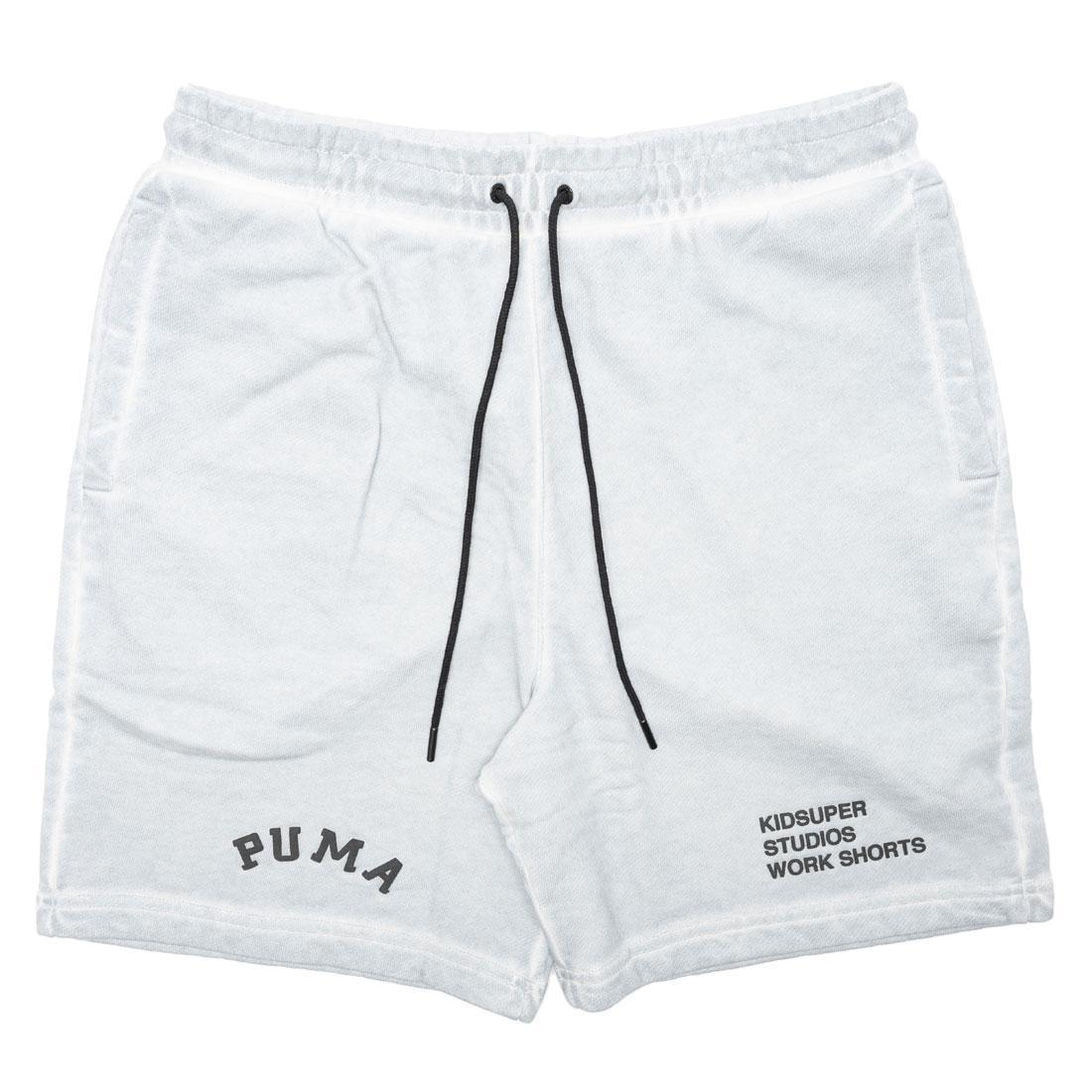 Puma x KidSuper Studios Men Treatment Shorts (gray / gray violet)