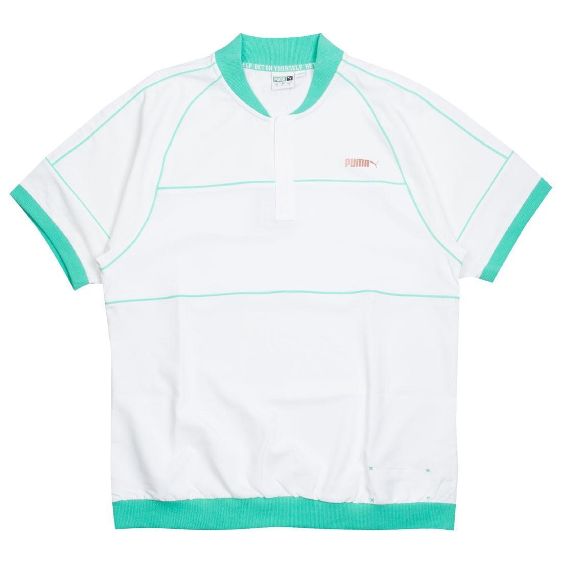 Puma x Emory Jones Men Cambridge Pullover Shirt (white / green)