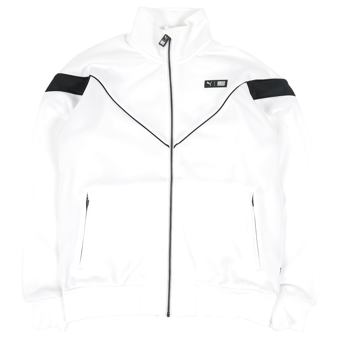 Puma x The Marathon Continues Men MCS Track Jacket (white / black)