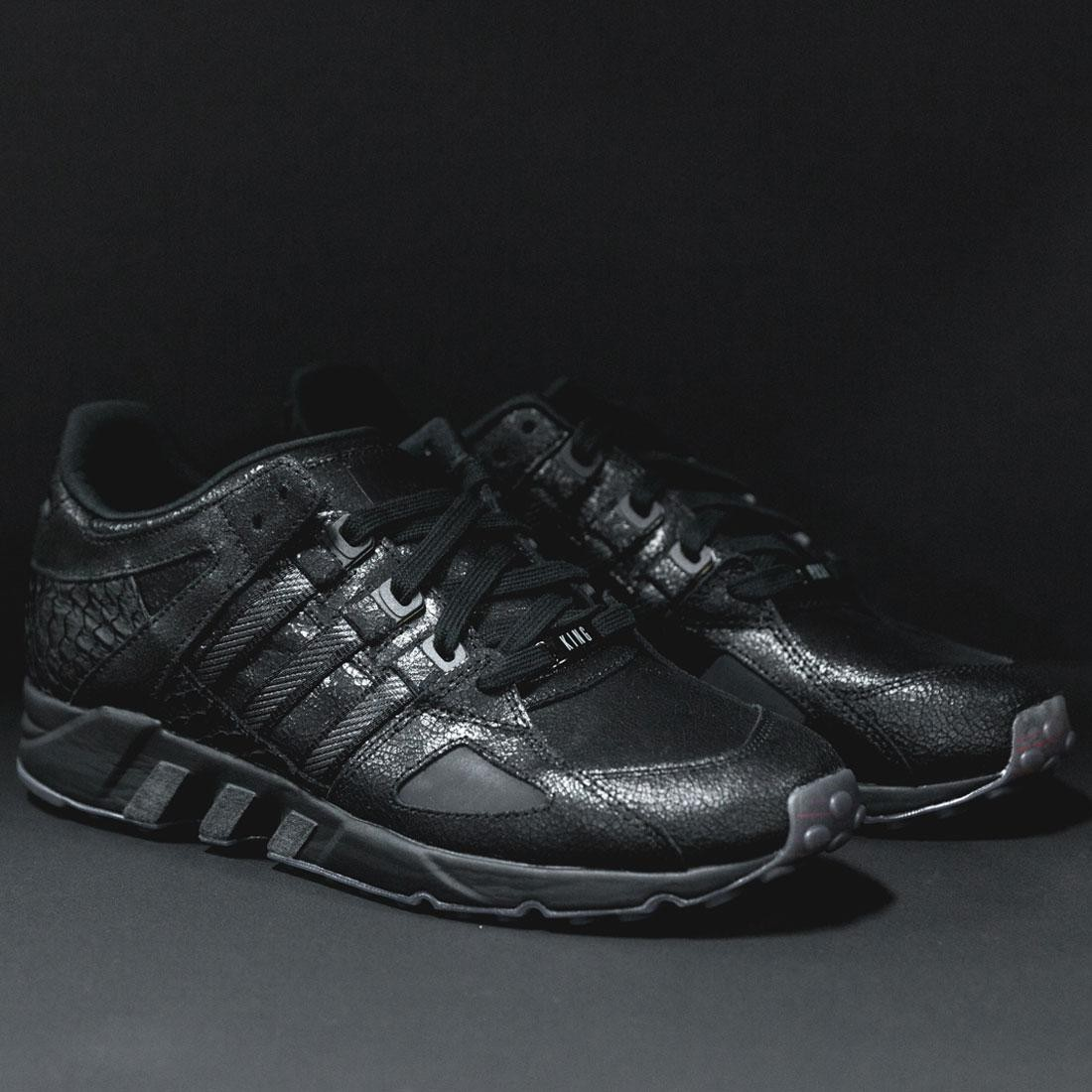 8d2e7ac10 Adidas x Pusha T Men EQT Running Guidance 93 - Black Market (black)
