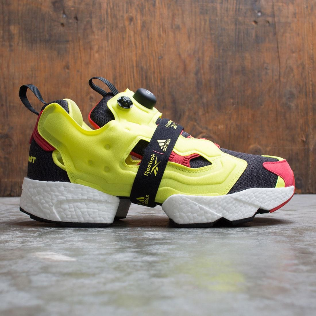 Reebok Men InstaPump Fury Boost (black / hypergreen / rbk red)