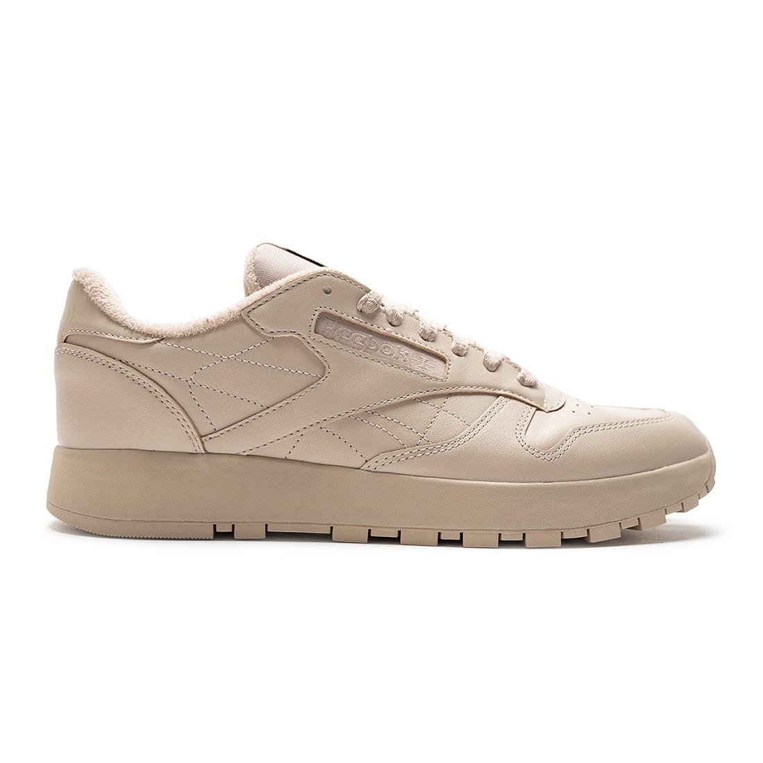 Reebok x Maison Margiela Men Project 0 Classic Leather (beige / modern beige / footwear white / black)