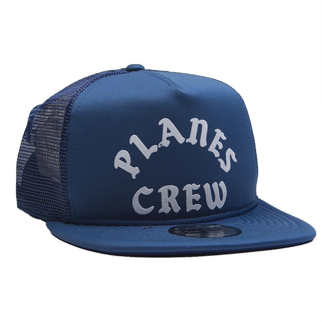 Paper Planes Trucker Snapback Cap (blue / royal)