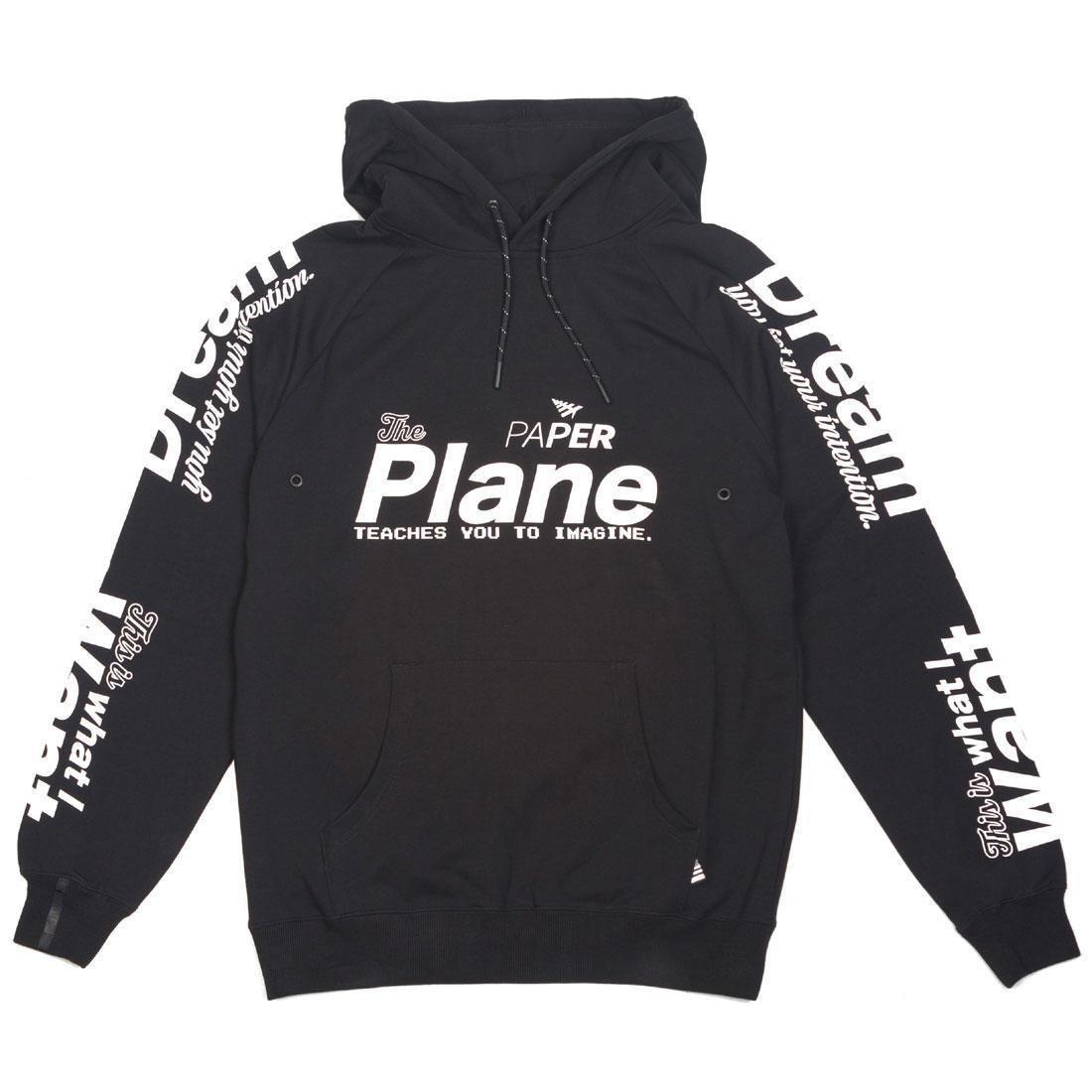Paper Planes Men Pilot Hoody (black)