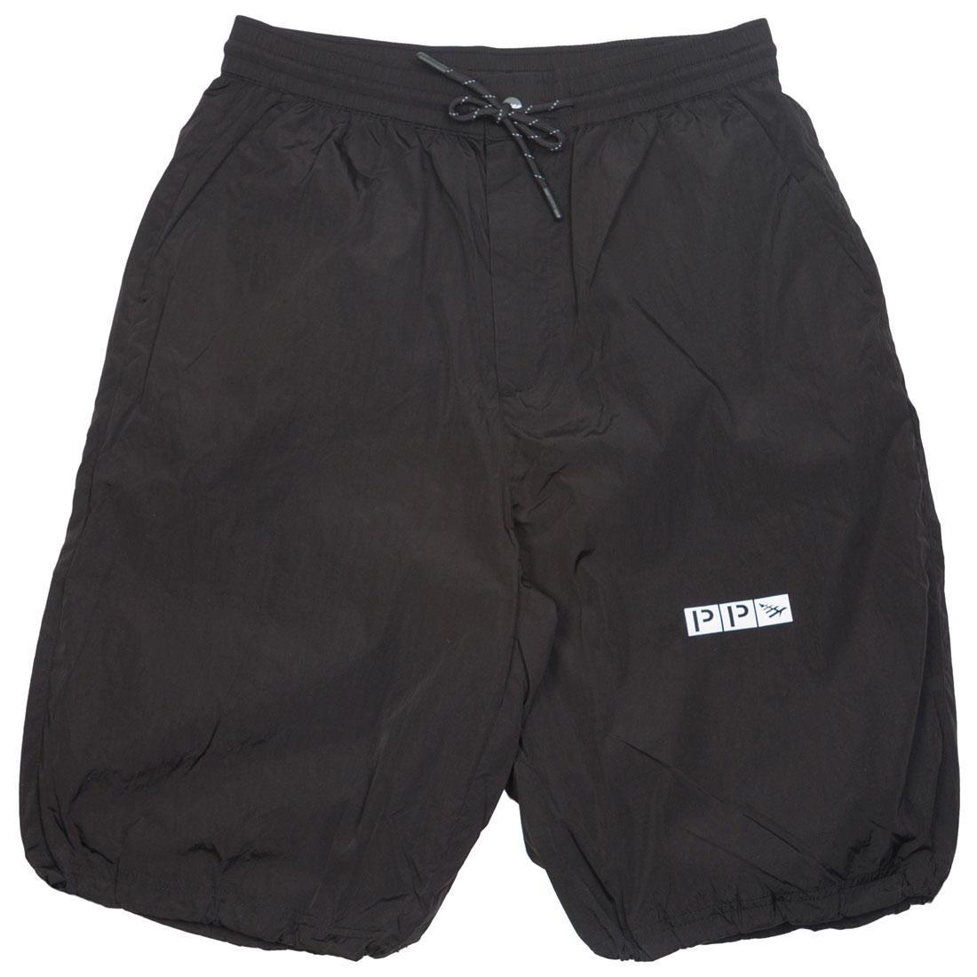 Paper Planes Men Parachute Shorts (black)